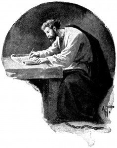 Paul Writing