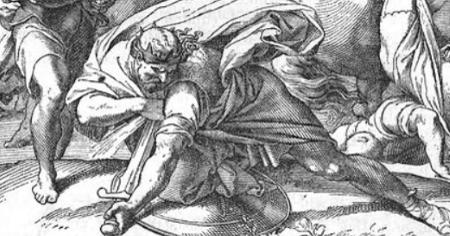 Saul death