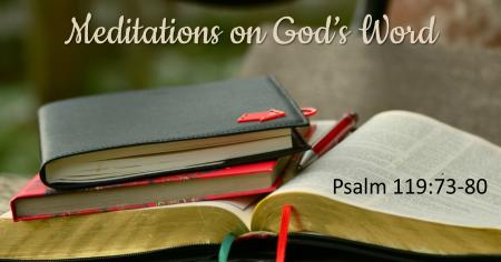 Meditations on God's Word